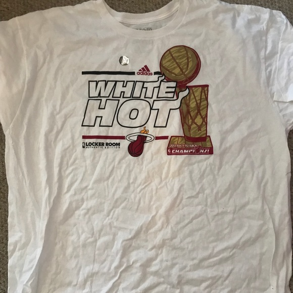 t shirt miami heat adidas